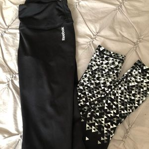 Black Reebok leggings